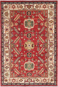 New Pakistan Hand-woven Antique Reproduction of a 19th Century Persian Village Rug