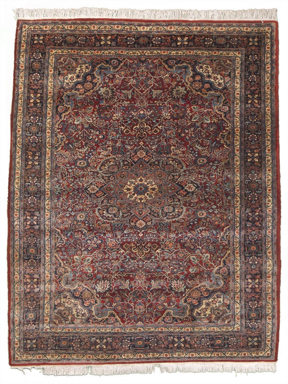 Antique Persian Jozan Sarouk Rug             6'5
