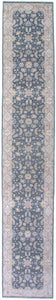 "New Pakistan Hand-woven Antique Reproduction of a 19th Century Persian Rug Runner  2'7""x 15'5""  SOLD"