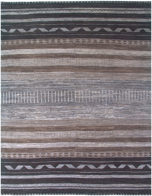 New Pakistan Hand-Knotted Modern Carpet         7'10