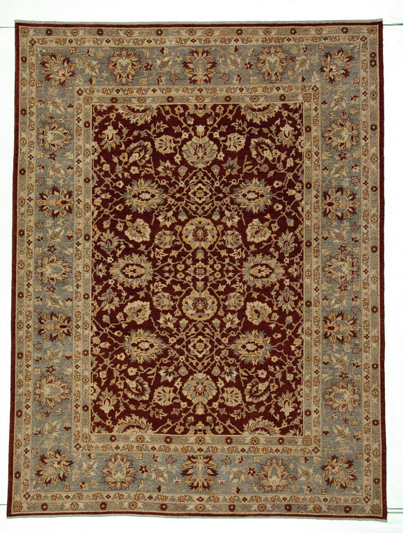 New Pakistan Hand-woven Antique Reproduction of a 19th Century Persian Carpet    8'9