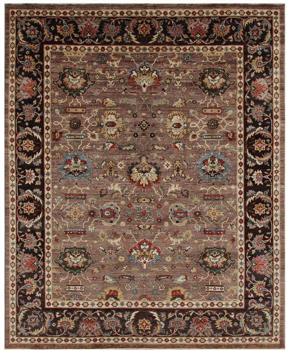 New Pakistan Hand-Knotted Antique Recreation Of 19th Century Persian Sultanabad   8'x 10'