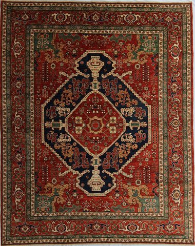 New Pakistan Hand-Knotted Antique Recreation of a Persian Bakhshayish Design  SOLD