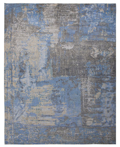 New Pakistan Hand-Knotted Contemporary Modern Abstract Carpet   12'x 14'10""