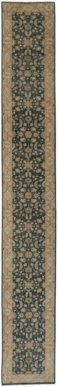 New Pakistan Hand-woven Antique Reproduction of a 19th Century Persian Rug Runner  2'7