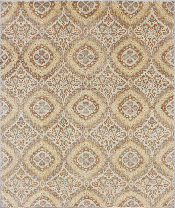 New Afghanistan Hand-woven Modern Rug    8'x 9'8