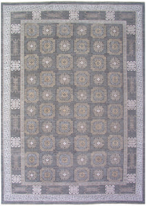 New Pakistan Hand-woven Antique Reproduction of a 19th Century Khotan Carpet        SOLD