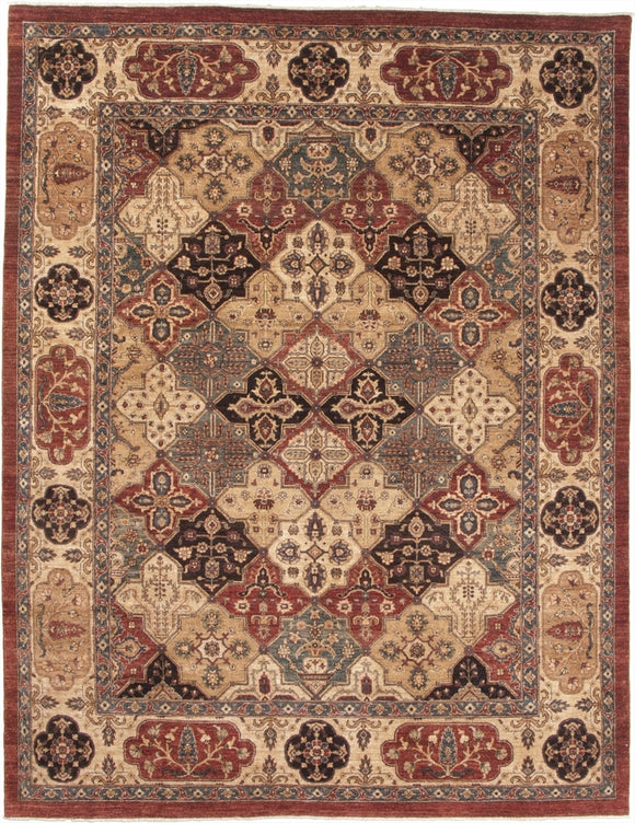 New Pakistan Hand-woven Antique Reproduction of a 19th Century Khorasan Carpet        SOLD