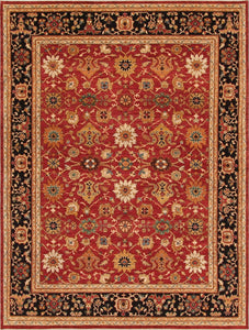 "New Pakistan Hand-woven Antique Reproduction of a 19th Century Persian Carpet    11'8""x 15'7"""