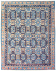 New Pakistan Hand-woven Antique Reproduction of 19th Century Khotan carpet           SOLD