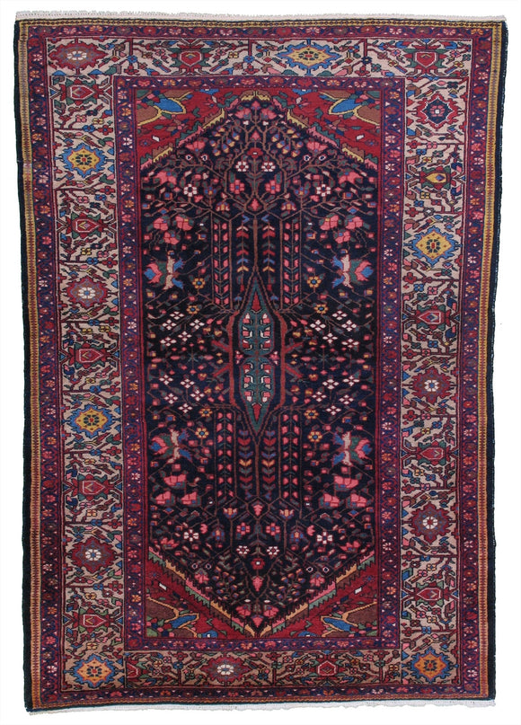 Semi-Antique Persian Bakhtiari Rug