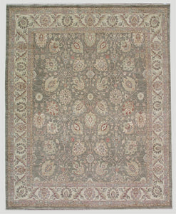 New Pakistan Hand-woven Antique Reproduction of a 19th Century Persian Tabriz Carpet    SOLD