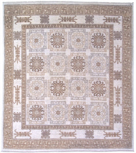 New Pakistan Hand-woven Antique Reproduction of a Khotan Rug