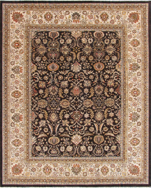 New Pakistan Hand-woven Antique Reproduction of a 19th Century Persian Carpet  11'11