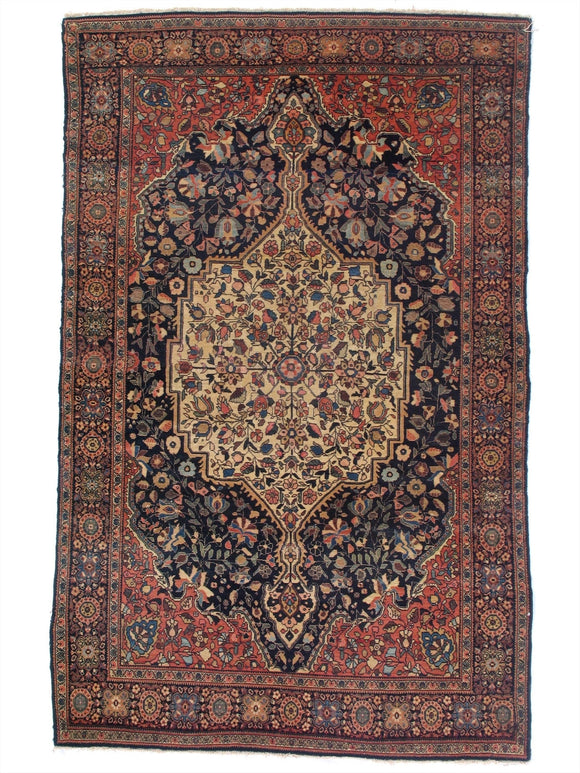 Antique Persian Ferahan Rug