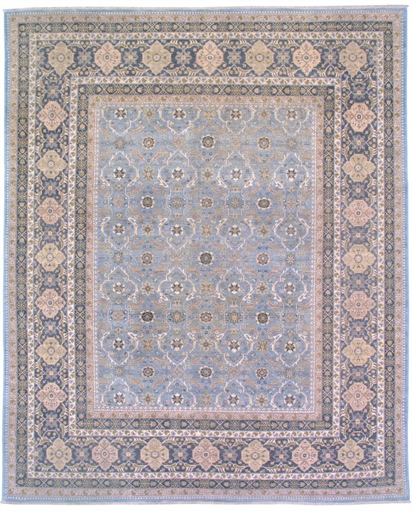 New Pakistan Hand-woven Antique Reproduction of a 19th Century Persian Carpet  SOLD