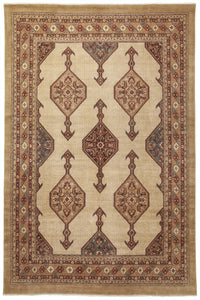 "New Pakistan Hand-woven Antique Reproduction of a 19th Century Persian Serab Rug  10'2""x 13'7"""