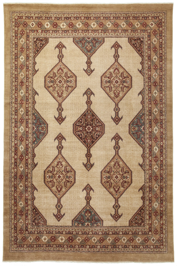 New Pakistan Hand-woven Antique Reproduction of a 19th Century Persian Serab Rug  10'2