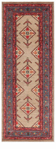 Afghanistan New Hand-Knotted Antique Recreation of a 19th Century Persian Serab.  4'x 10'