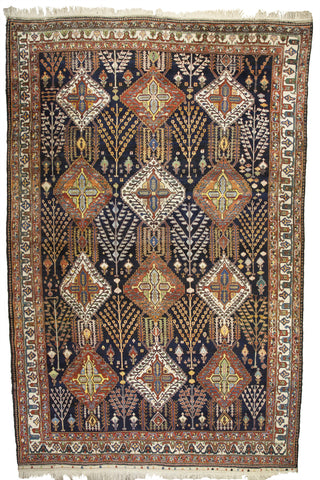 "Antique Persian Chahar Mahal Regional Bakhtiari Oversized Carpet Mint       12'8""x 19'9"""