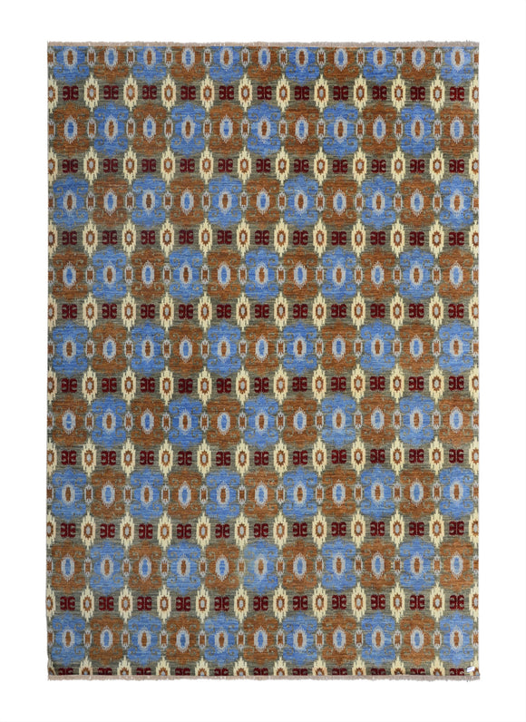 New India Hand-knotted Tibetan Weave (80 Quality)       10'x 14'