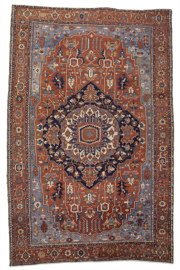 Antique Persian Serapi Carpet                   11'9