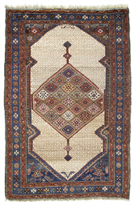 "Antique Persian Serab Village Rug            3'10""x 5'8"""