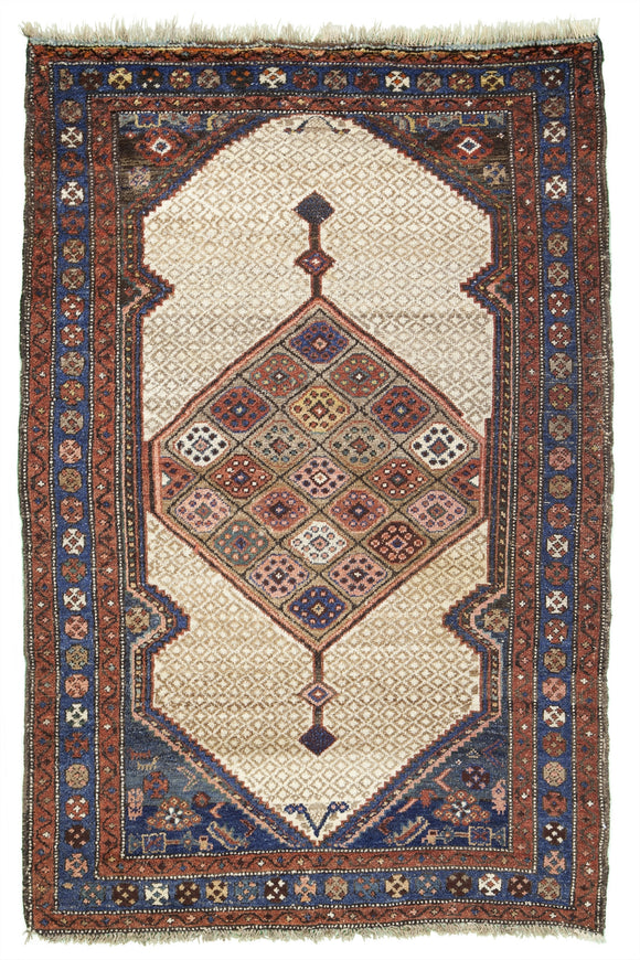 Antique Persian Serab Village Rug            3'10