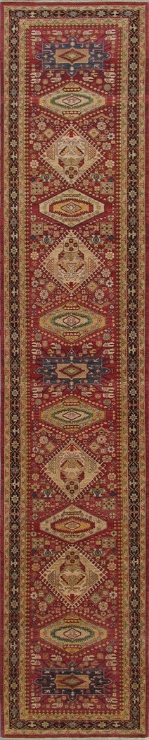 New Pakistan Hand-woven Antique Reproduction of a 19th Century Persian Runner  3'10