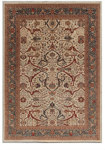 New Pakistan Hand-woven Antique Reproduction of a 19th Century Persian Bijar Garrus Carpet    SOLD