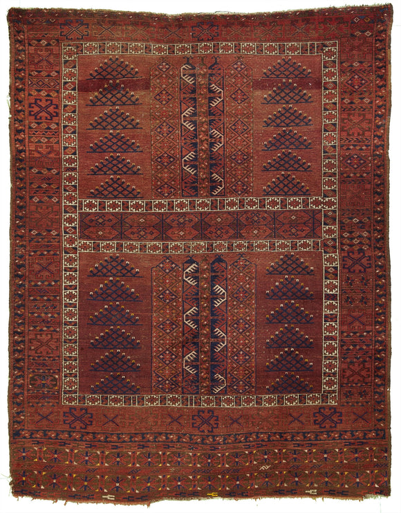 Antique Turkoman Tribal Rug