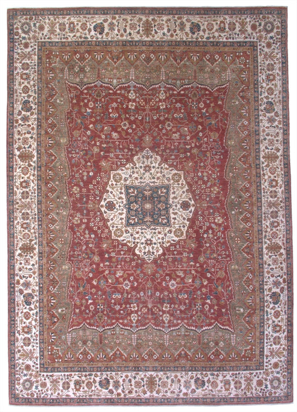 New Pakistan Hand-woven Antique Reproduction of a 19th Century Persian Ferahan   SOLD
