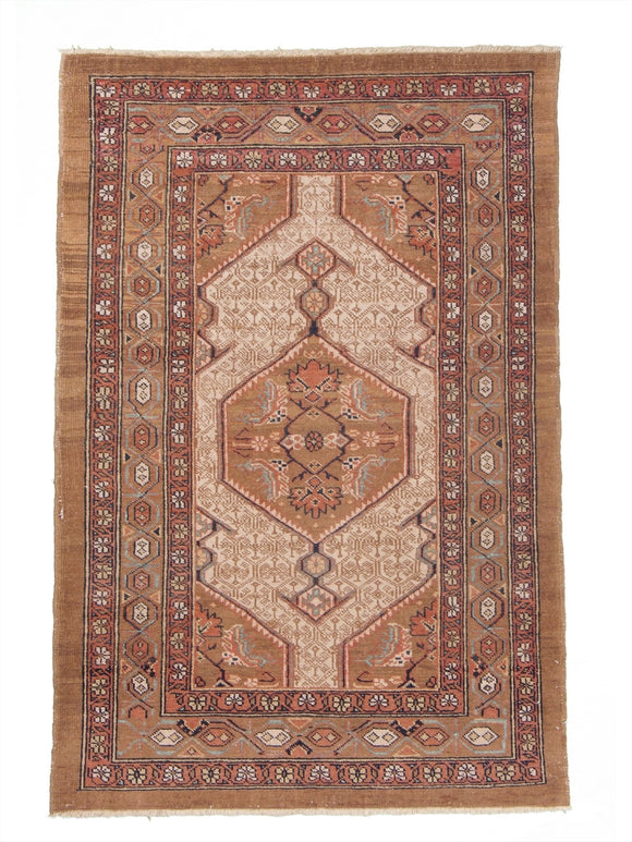 New Pakistan Hand-woven Antique Reproduction of a 19th Century Persian Serab Rug  SOLD