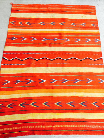 1890's Antique Transitional Navajo Rug    SOLD