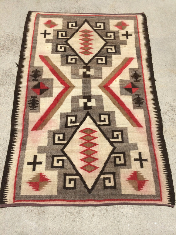 Antique Crystal Navajo Rug  SOLD!
