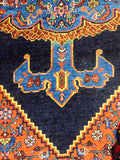 "Antique Persian Bijar Village Rug                  4'5""x 6'8"""