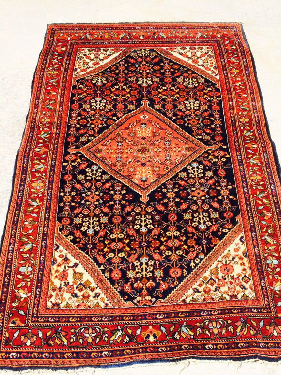 Antique Persian Ferahan Village Rug                 4'3