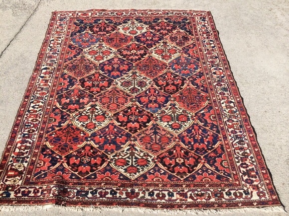 Antique Persian Bakhtiari Village Rug            SOLD!