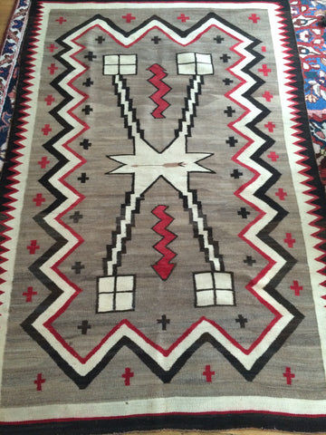 Antique Navajo rug              SOLD!