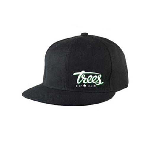 Trees Logo Flex-Fit Flatbrim Hat