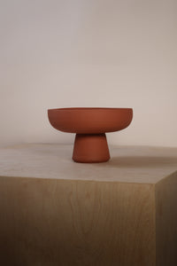 Classic Compote - Red Clay
