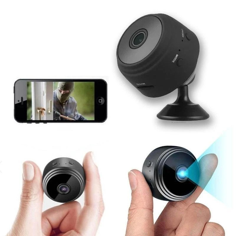 Wireless Mini Night Vision Camera for Surveillance