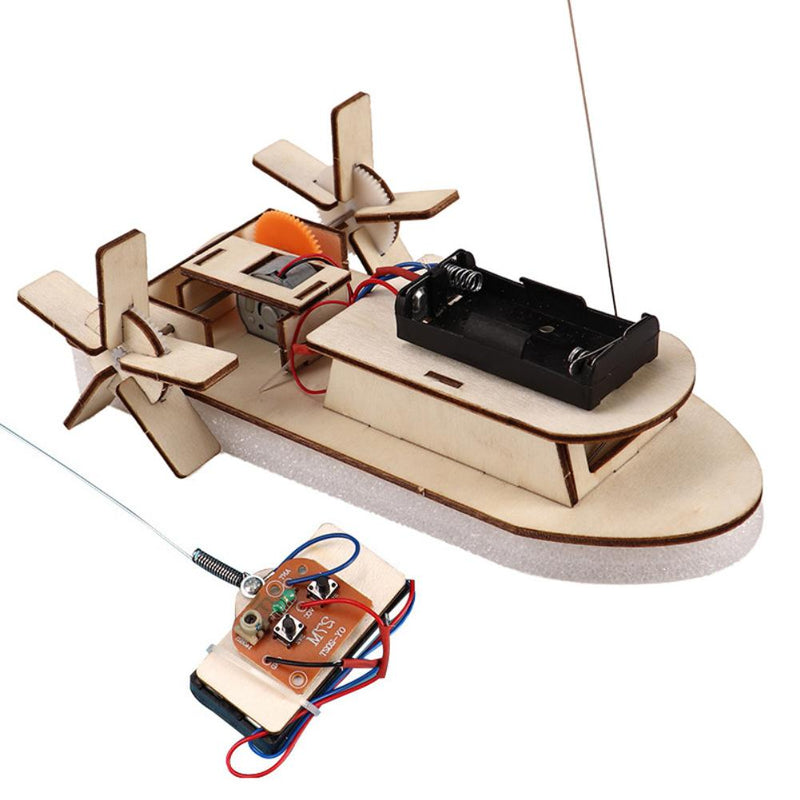 Wooden Remote Controlled Ship Designer Electric for Student