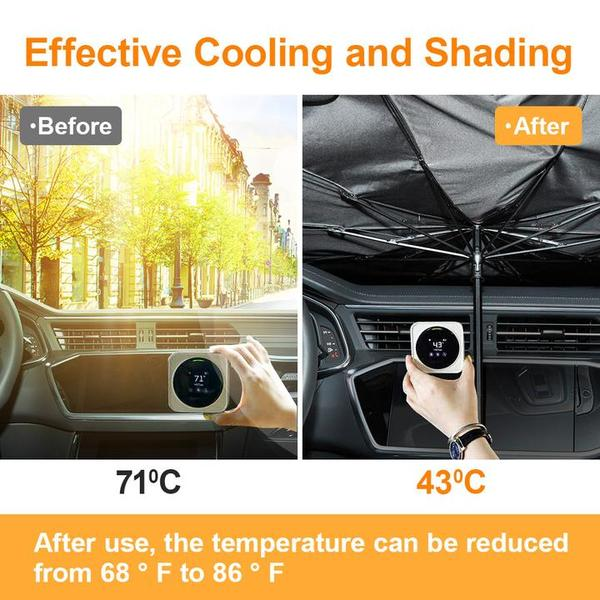 Windshield Sun Shade Umbrella Foldable Car