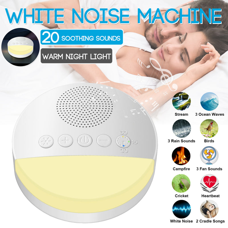 White Noise Machine : 20 Soothing Sounds for Babies and adults