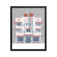 Load image into Gallery viewer, McAlpin Hotel Miami Beach - Framed Poster