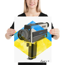 Load image into Gallery viewer, Super 8 Camera Painting