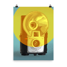 Load image into Gallery viewer, Kodak Brownie Starflash Camera Poster - Vertical