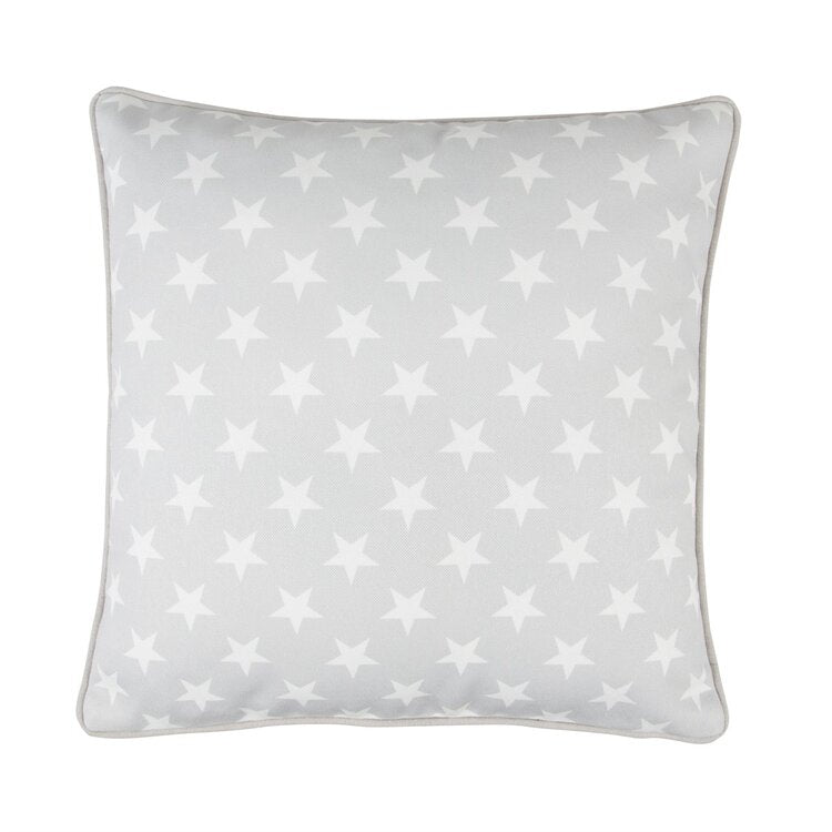 Baby Grey Star Cushion