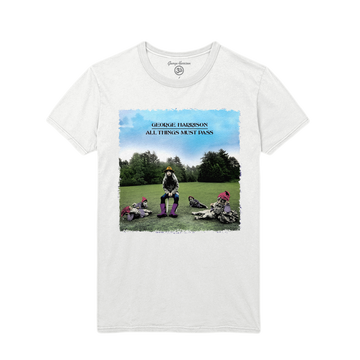 All Things Must Pass White Tee - George Harrison Shop